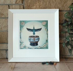 Emerge / Framed Print / Kura Gallery